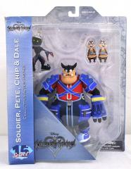 0005003 kingdom hearts select series 2 pete chip dale soldier action figures