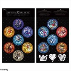 Kingdom Hearts Stained Glass Sticker Set