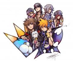 Sora x The World Ends With You Artwork