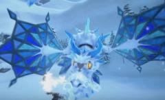 Ice dragon heartless