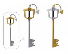 0016107 ichiban kuji kingdom hearts kuji keyblade pens Key Pens