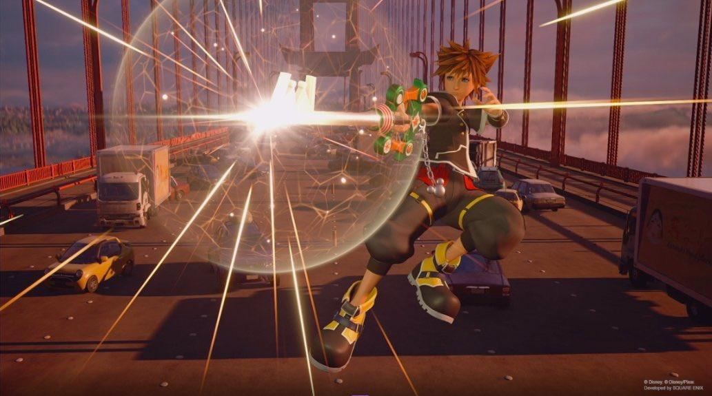 Kingdom Hearts III Amazon Preorder DLC Announcement