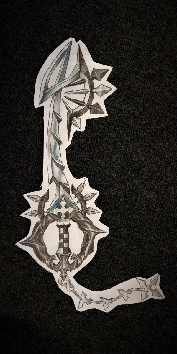Keyblade 9 by Jack Slavin