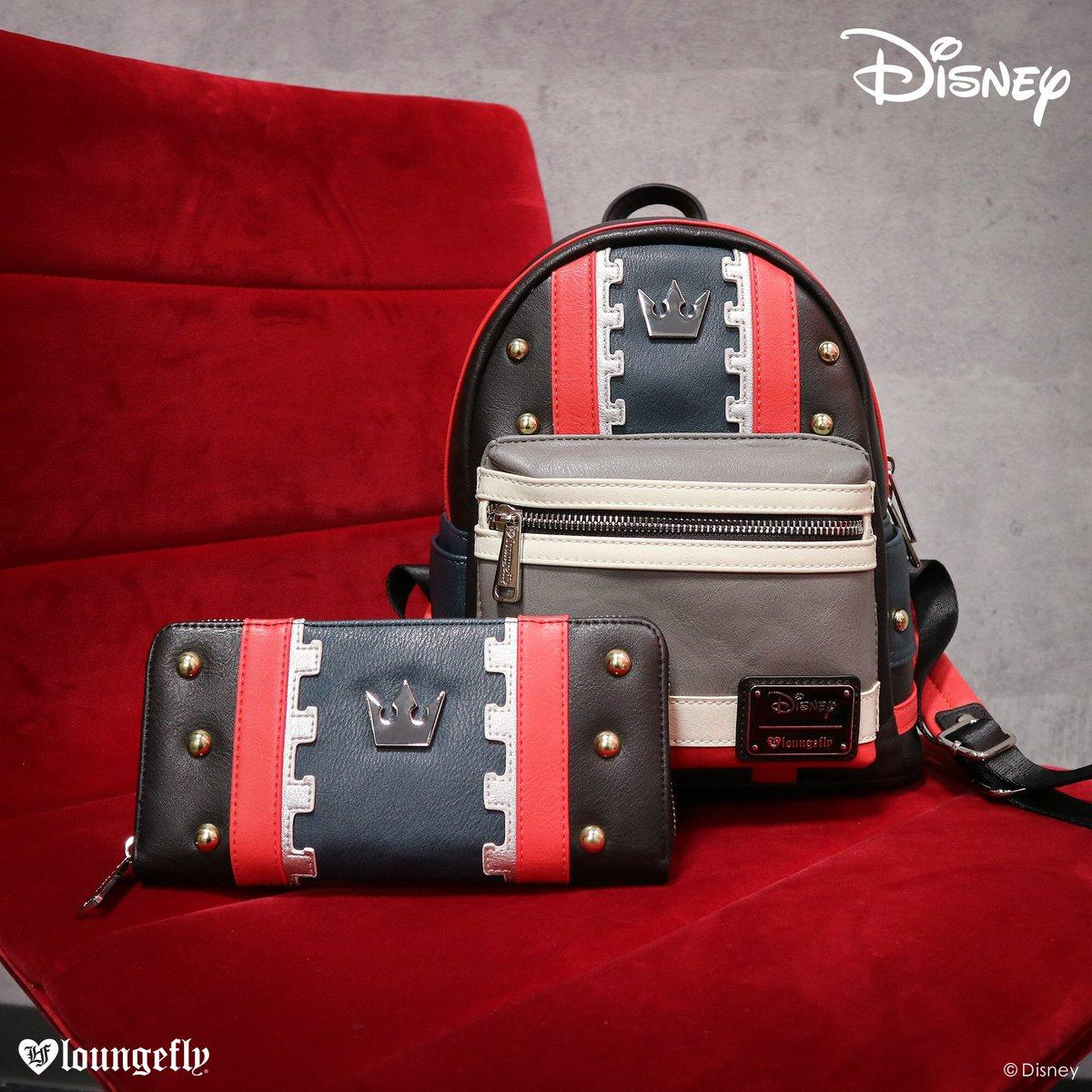 7b07ccd0801 Loungefly x Kingdom Hearts 3 Sora Backpack and Wallet