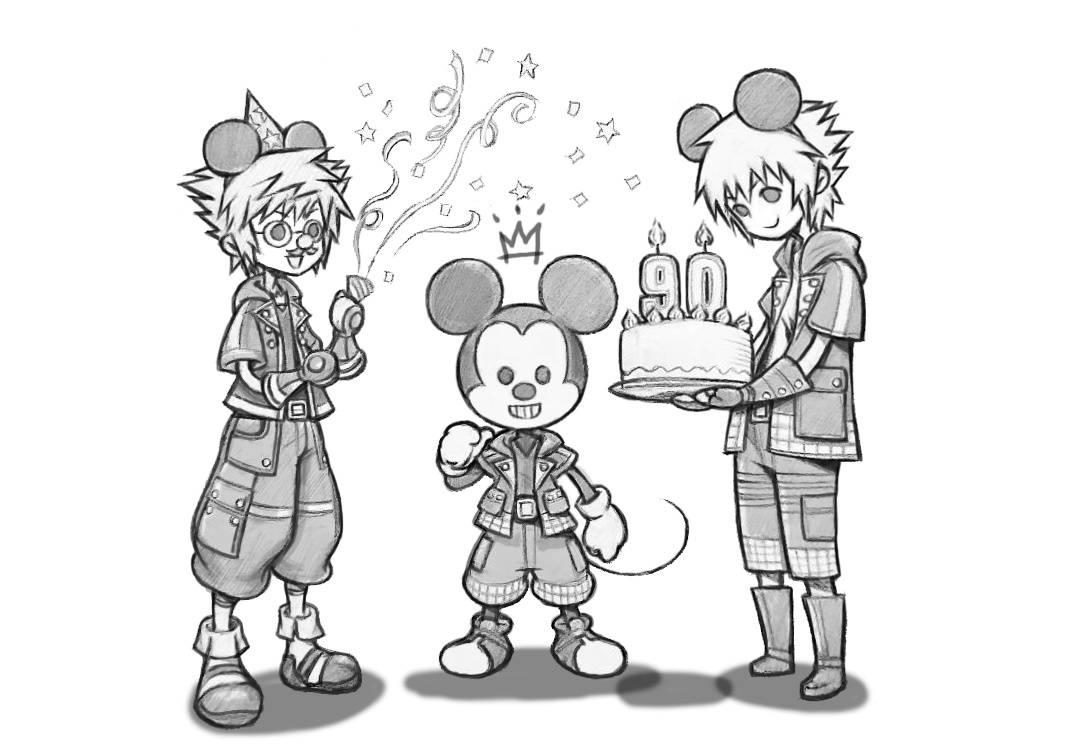 Nomura for Mickey's 90th