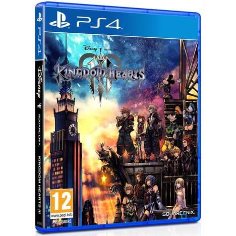 Kingdom Hearts III Auchan Calendar pre-order bonus