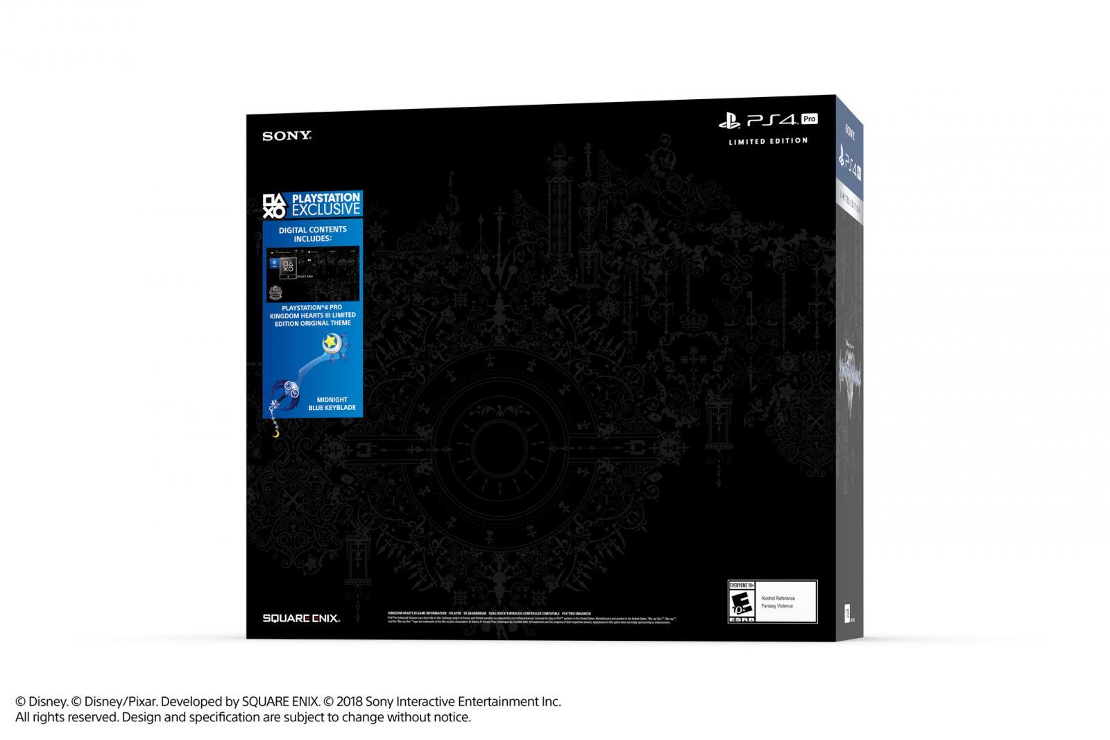 Kingdom Hearts III Lmtd Edition PS4 Bundle NA