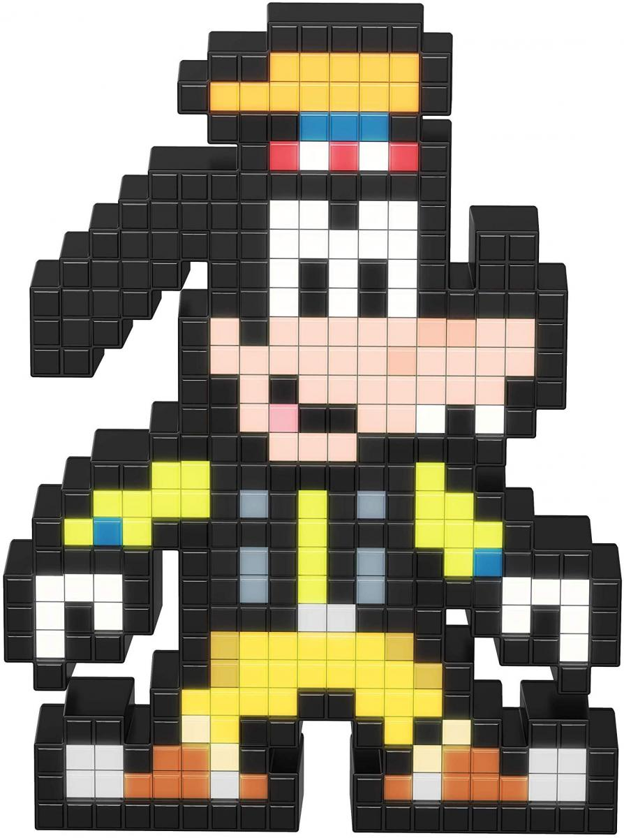 PDP Pixel Pals Kingdom Hearts Goofy Collectible Lighted Figure
