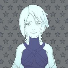 Aqua portrait