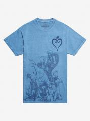 Hot Topic Deep Dive Group Characters T-shirt