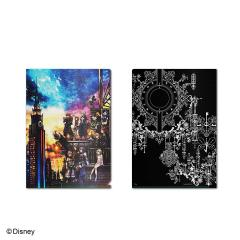 Kingdom Hearts III Metallic Clear File