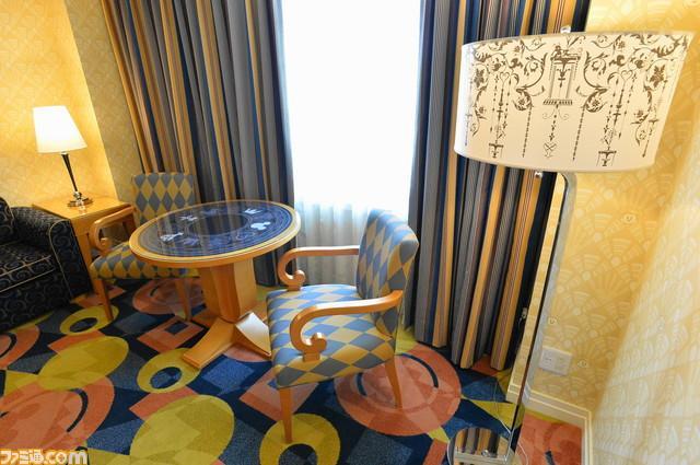 2019-01-14 Kingdom Hearts Disney Ambassador Hotel themed room