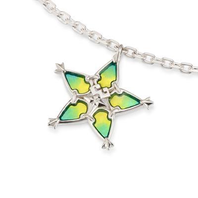 U-TREASURE wayfinder necklaces and bracelets Silver