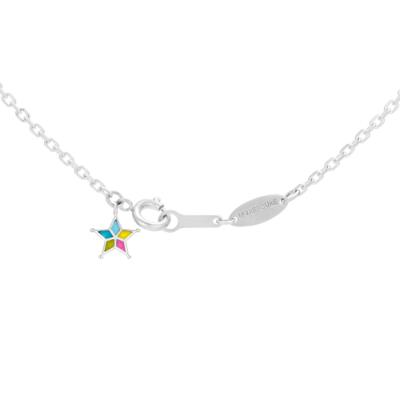 U-TREASURE wayfinder necklaces and bracelets K18 white gold