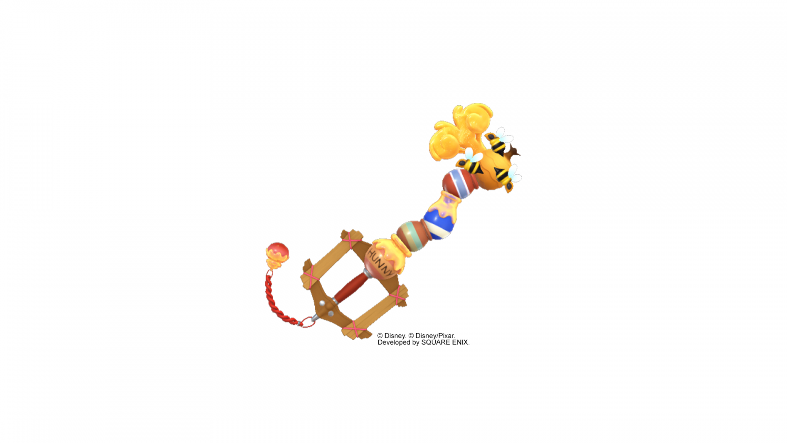 2019-01-19 KH3 Keyblade renders