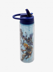 Kingdom Hearts Birth By Sleep Poster Water Bottle 3.PNG