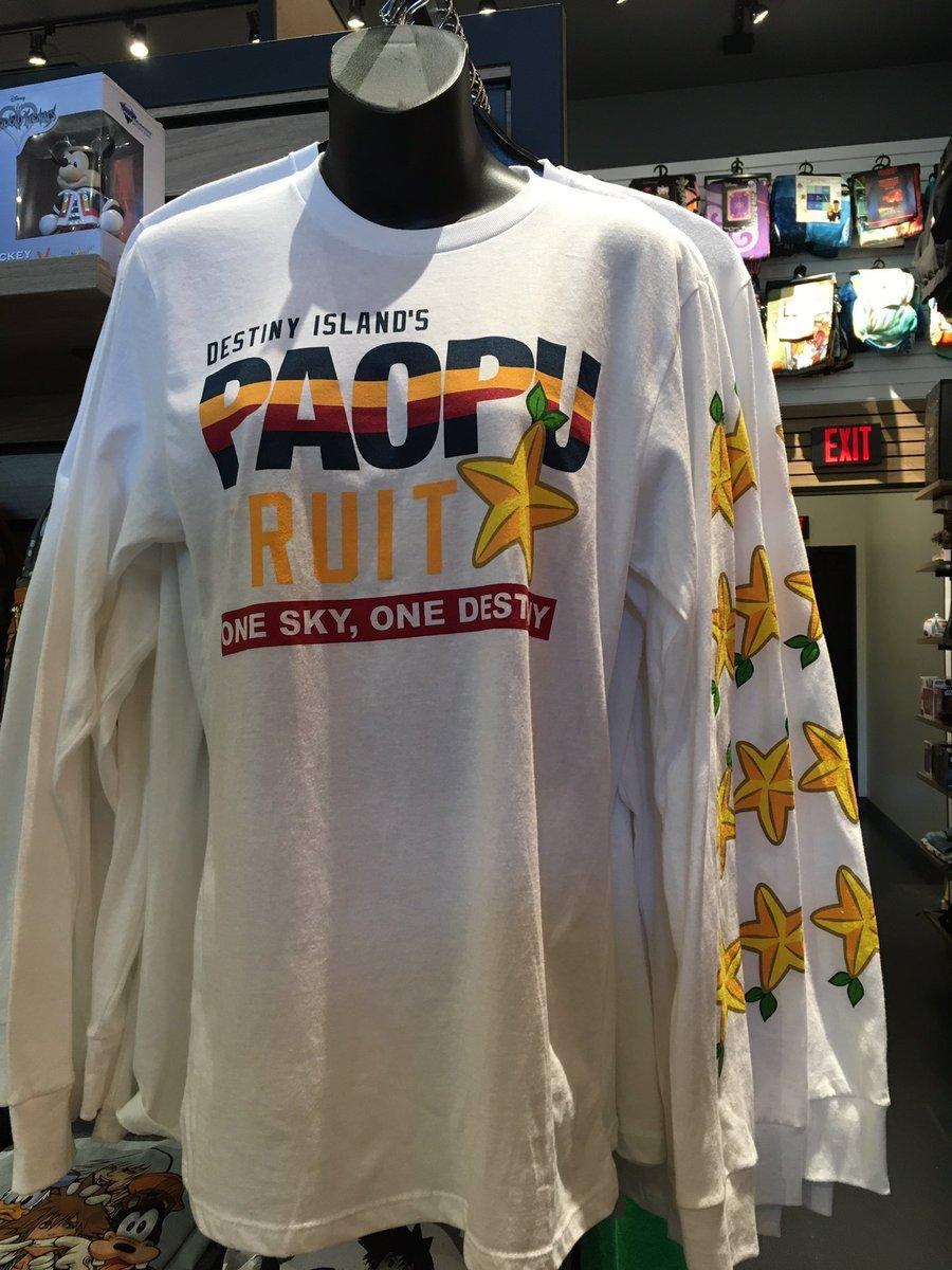 Kingdom Hearts Paopu Fruit long sleeved shirt