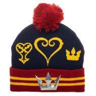KINGDOM HEARTS New Era Cap and Beanie with Pom