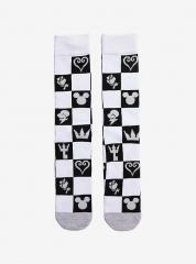 KINGDOM HEARTS Checkered Icon Socks