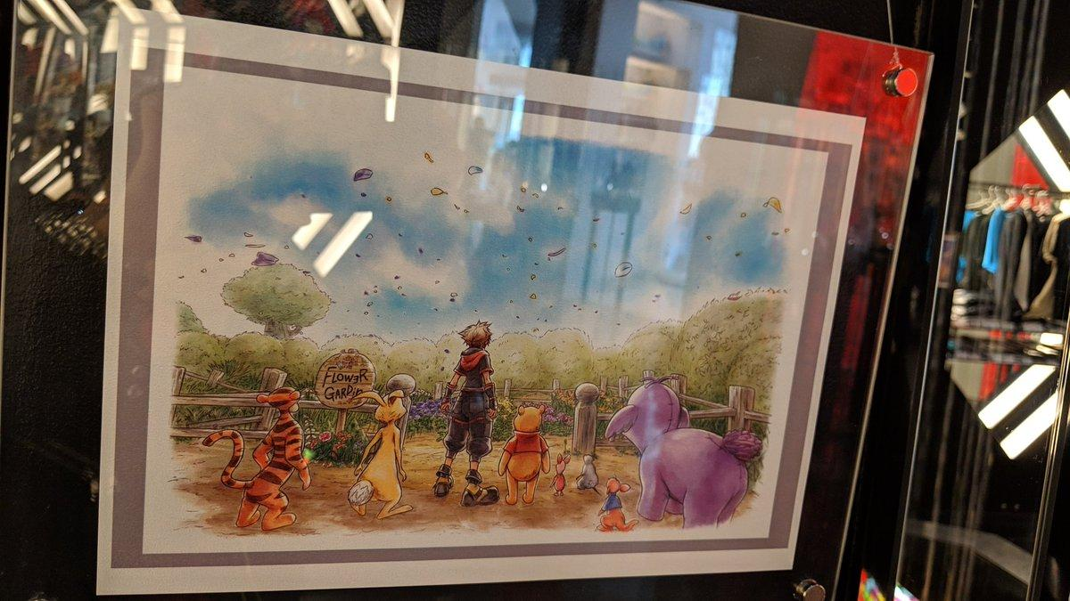 Kingdom Hearts III Artwork at Square Enix ARTNIA