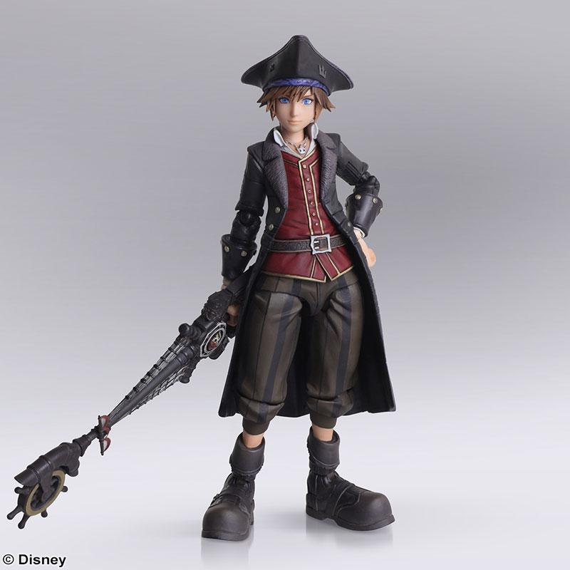 Bring Arts Kingdom Hearts III Pirates of the Caribbean Sora