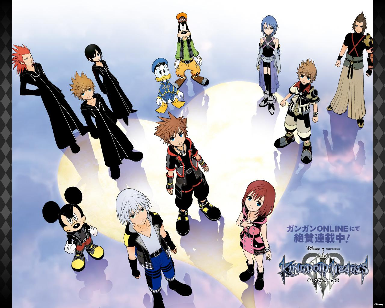 Kingdom Hearts Iii Manga Official Wallpapers Now Available To
