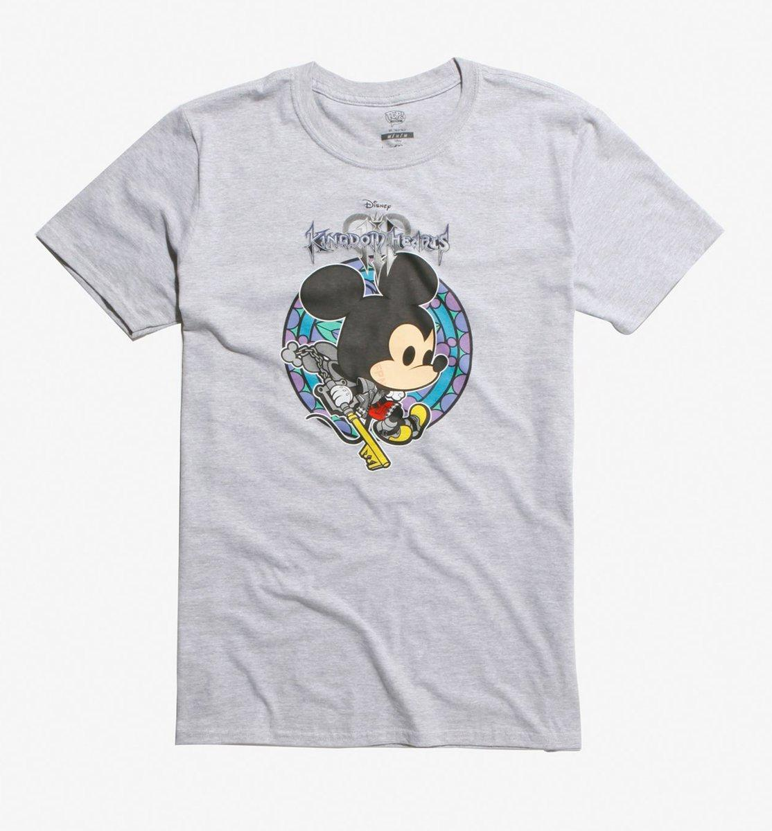 Hot Topic-Exclusive Funko POP! Kingdom Hearts Tees