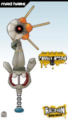 Keyblade Card - Mad Hare