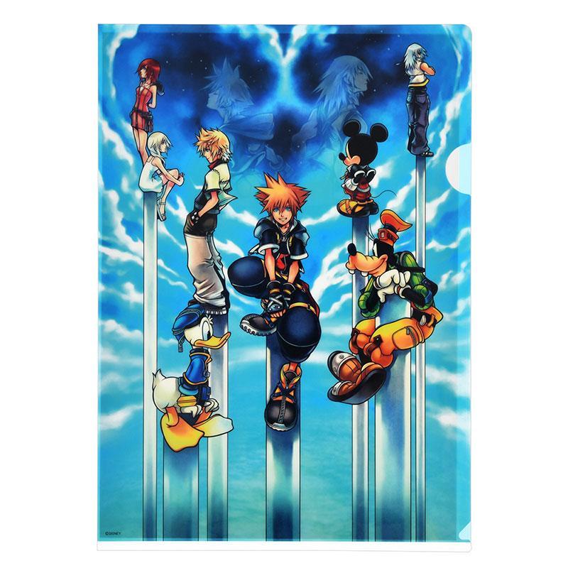 Kingdom Hearts II Clear File Set