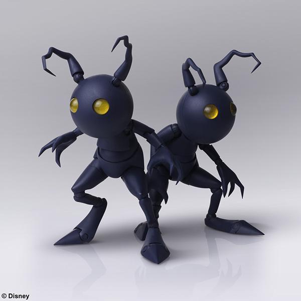 Kingdom Hearts III Shadow Heartless Bring Arts Figures