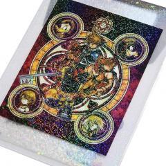 Kingdom Hearts Sticker Set & Hologram Envelope File