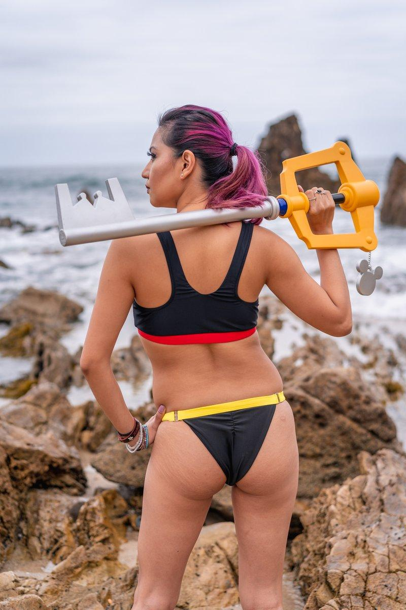 Keyblade Wielder Bikini Cosplay Swimsuit SixOn Clothing