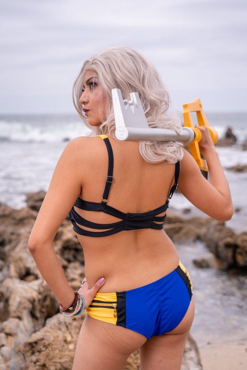 Keyblade Master Bikini Cosplay Swimsuit SixOn Clothing