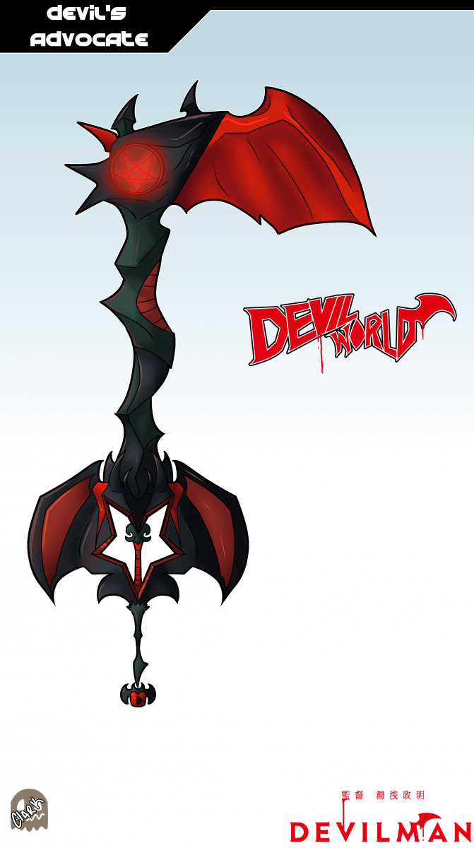 Keyblade Card - Devil's Advocate