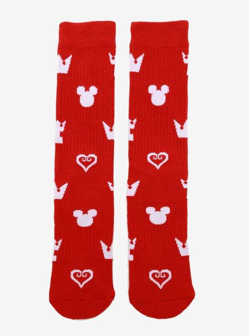 November Round-Up Kingdom Hearts Allover Print Crew Socks