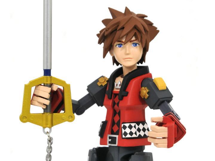 Diamond Select Toys Kingdom Hearts III Toy Sora Valor Form