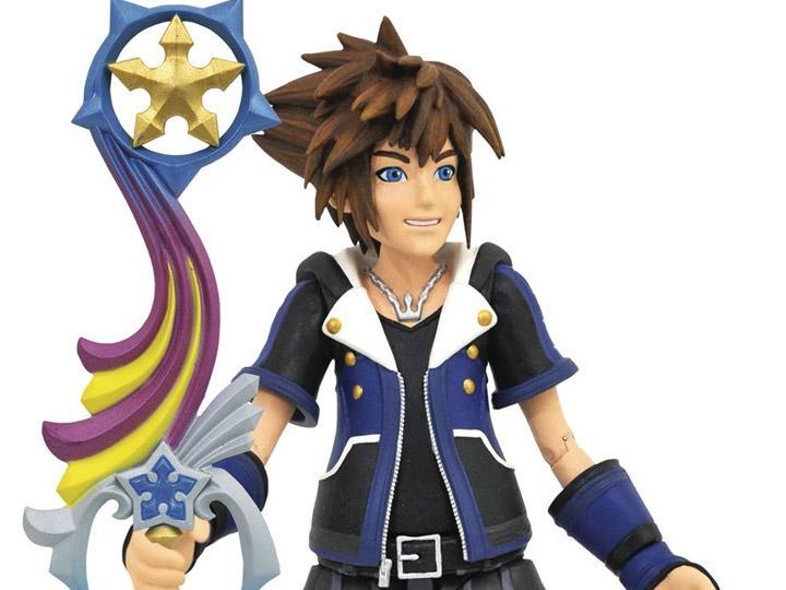 Diamond Select Toys Kingdom Hearts III Sora Wisdom Form