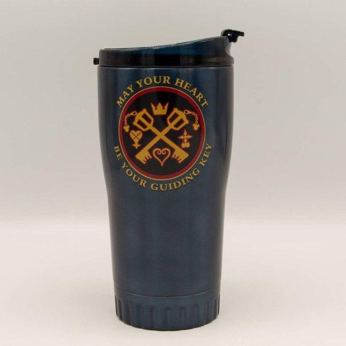 January Round-Up Disney Kingdom Hearts 20oz. Stainless Steel Travel Mug