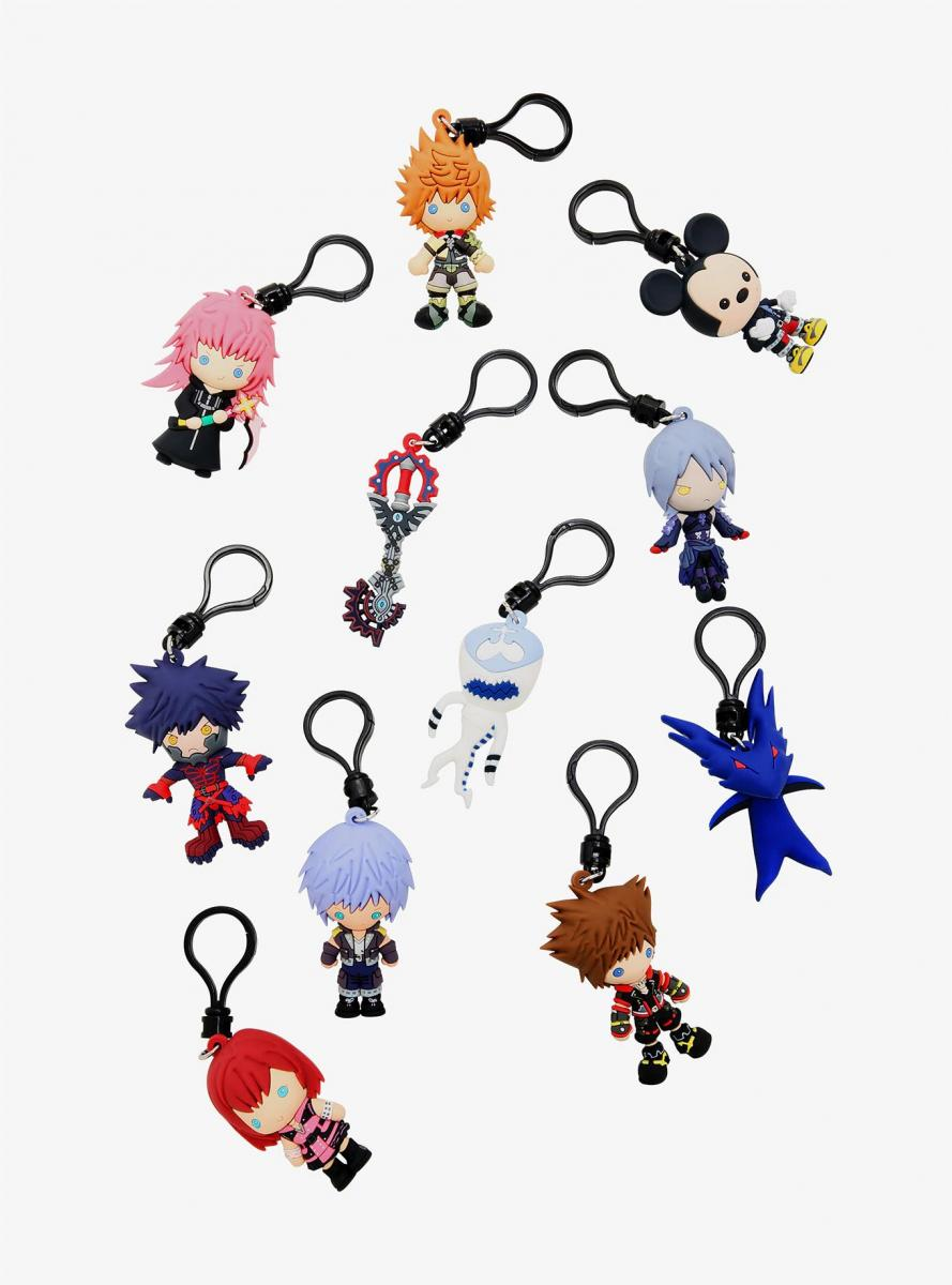 Monogram Kingdom Hearts Series 4 Keychains
