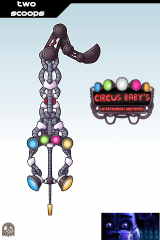 Keyblade Card - Two Scoops