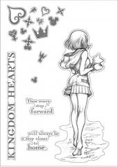 Kingdom Hearts III Kairi Wall Sticker Promise