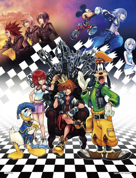 Kingdom Hearts HD 1.5 Remix -300 Piece Puzzle- AmiAmi