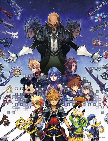Kingdom Hearts HD 2.5 Remix -300 Piece Puzzle- AmiAmi