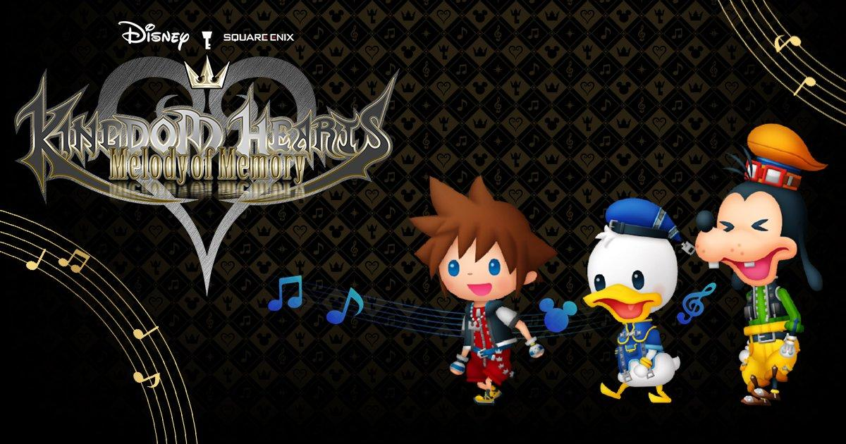 Kingdom Hearts Melody of Memory English website launches; new information and images available - KH13 · for Kingdom Hearts thumbnail