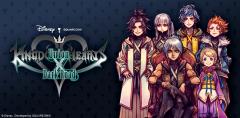 Kingdom Hearts Dark Road Key Art