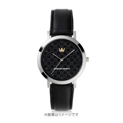 U-Treasure Kingdom Hearts watch Monogram Black