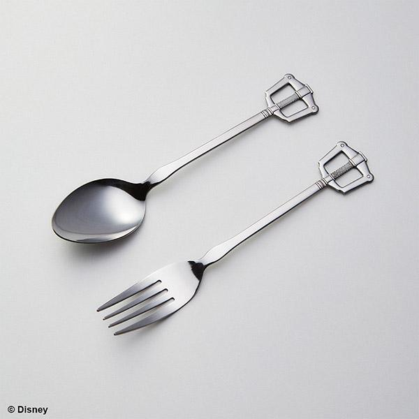 Kingdom Hearts Fork and Spoon Kingdom Key