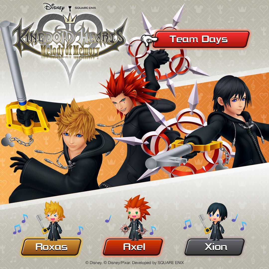Kingdom Hearts Melody of Memory English Website