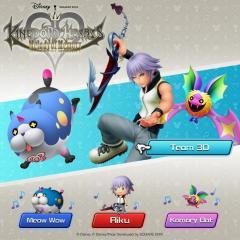 2020-10-26 Kingdom Hearts Melody of Memory Team 3D
