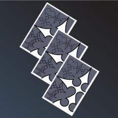 Luxord's Cards - Minimal Illustration